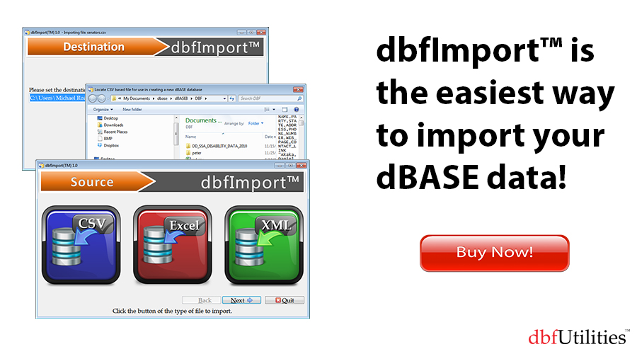 dBase – theBase for All Things Data – Slide 4