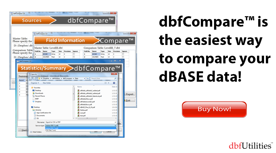 dBase – theBase for All Things Data – Slide 5