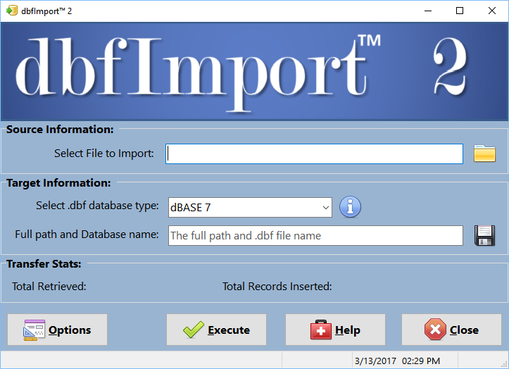 dbfImport 2 1
