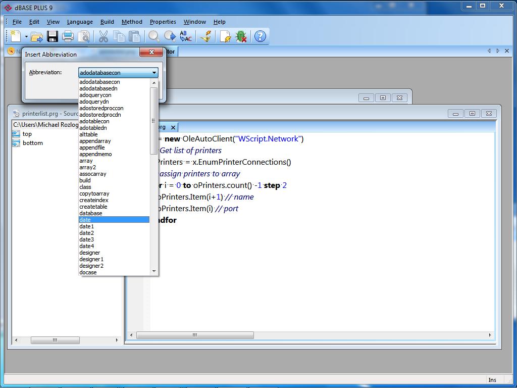 "Search Results for ""dbase plus"" – Page 7 – dBase, LLC"